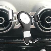 Kfz-Luftauslass-Handyhalter Schwerkraft Handy Halterung für Audi A3 S3 Silber