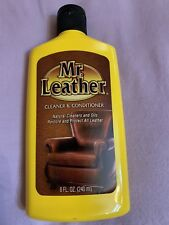 Mr Leather Cleaner And Conditioner 8 Fl Oz- Restores And Protects All Leather