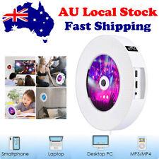 Wall Mounted DVD CD Player Wireless Bluetooth Remote Control VCD HIFI Mp3 FM AU