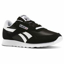 72818830a71 Reebok Royal Nylon Classic BLACK White BD1553 Casual Comfort Sneakers for  MEN