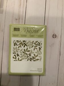 Stampin' Up! Layered Leaves Textured Impressions Embossing Folder  ~NEW~ HTF ~