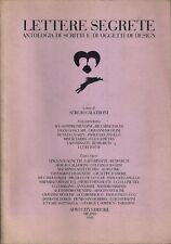 LETTERE SEGRETE - ANTOLOGIA DI SCRITTI E DI OGGETTI DI DESIGN (AGNETTI-SOTTSASS.