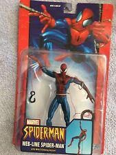 SpiderMan Action Figure, on original hanger 2004 Toybiz