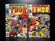 COMICS: Marvel: Thor #258-259 (1977), Grey Gargoyle app - RARE