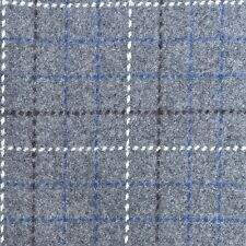 Designers Guild Wool Check Upholstery Fabric Cheviot Tweed Smoke 1.1 yd F1867/02