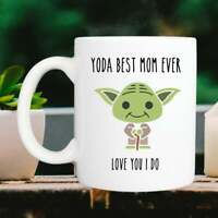 Yoda Best Mom Mug, Mother'S Day Gift, Mommy Coffee Cup Funny Coffee Cup Gift Men