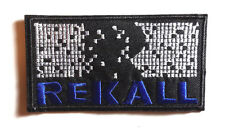 "Total Recall/Rekall Movie Logo  4"" Embroidered Patch-FREE S&H (TRPA-202)"