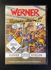 Werner - Flitzkacke Alarm - NEU & OVP - PC Spiel Tivola tewi Rarität Sammler