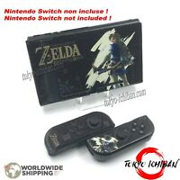 Kit Housse Nintendo Switch & Joycon / Zelda Breath Of The Wild / Coque Case for