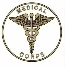 Medical Corps Decal