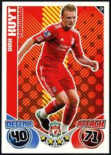 Dirk Kuyt #178 Topps Match Attax Liverpool 2010-11 Tarjeta de Fútbol (C602)