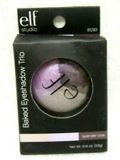 e.l.f. Baked Eyeshadow TRIO Lightweight Shadow ~81293 LAVENDER LOVE Purple Taupe