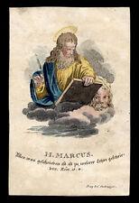 santino incisione 1800 S.MARCO EV.  dip.a mano PACHMAYER