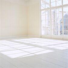 6x6ft White Room Scene Photography Background Studio Vinyl Photo Backdrop Props