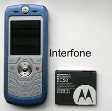 Rare Unlocked Motorola L6i-Mode Mobile Phone-Exc.Cond-Optional Charger Bundle