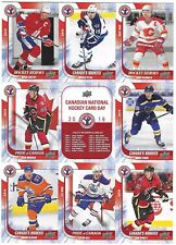 McDavid Bennett RC Gretzky 2016 Upper Deck CNHCD uncut sheet Canada National