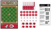 MasterPieces MLB Cincinnati Reds Checkers Board Game