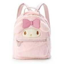 Women Kawaii Backpacks Melody Cinnamoroll Backpack Plush Shoulder Bags
