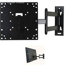 TV Wall Mount Bracket Up To 42in LCD LED Plasma Flat Monitor Holder Long Arm New