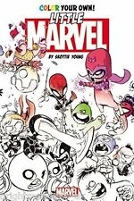 Little Marvel Adult Colouring Book Comic Superhero Skottie Young Civil War