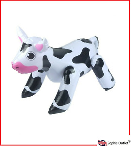 53CM INFLATABLE COW  ANIMAL Blow Up Toy Kids Bday Party Decoration Prop H99424