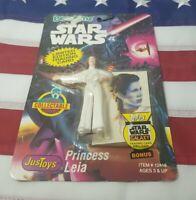 Star Wars Bend Ems PRINCESS LEIA #2 Variant Action Figure 1993 Just Toys MOC MIB