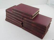 Early 1900's PLAYS AND POEMS OF SHAKESPEARE 12 Book Set : A.J. Valpy
