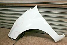 FORD FIESTA 2016 MK7 5 DOOR FRONT NS LEFT WING PANEL IN WHITE SCRATCHED #26