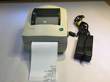 Zebra Eltron LP2442 Thermal Barcode Label Printer with power supply and lables.