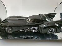 RARE TM & DC COMICS 1:18 - BATMAN BATMOBILE  1989 MOVIE