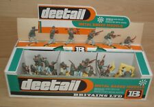 Ww2 Britains Deetail 1:32 German Africa corpo scatola rivenditori per 1975