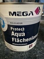 2,5 Liter Protect Aqua Flächenlasur Mega 190 Farbton Siehe Foto Restposten (87)