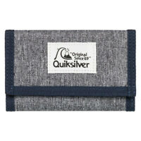 Quiksilver Neuf Homme Everydaily Portefeuille - Gris Clair Heather / Marine