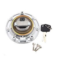 New Fuel Gas Tank Cap Cover Keys Fits for CBR600RR 03-14 CBR600 91-98 F4i 01-06