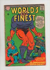 World's Finest #158 - Superman Batman Discover Jerrat! - (Grade 4.0) 1966