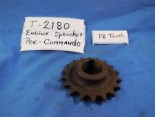 Norton T2180 NOS Engine Sprocket 18 Tooth , Pre Commando  N504