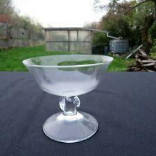 coupe à champagne en cristal Daum modèle orval signé