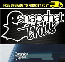 Snapchat sticker Funny JDM car 4x4 window instagram decal