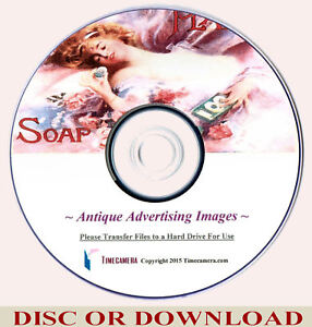 OLD ADVERTISING IMAGES – Restored High Res. Print-Making Set - DISC or DOWNLOAD