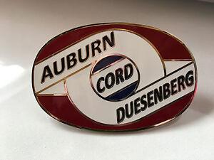 Auburn Cord Duesenberg Club Cloisonne Bumper Badge