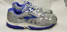 Brooks Ariel 12 Women's Running Shoes Sz 10.5 2E 1201162E804 Silver Ombre Blue