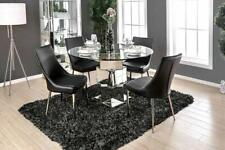 William's Home Furnishing -TABLE Izzy Table, Silver TABLE ONLY FREE SHIPPING