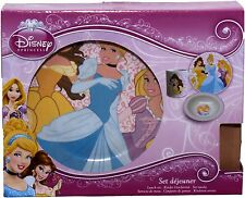 Disney Princess Three Piece Ceramic Lunch And Dinner Set By BestTrend