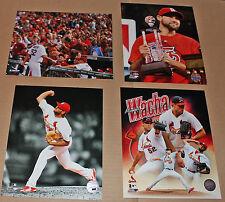 Michael Wacha St. Louis Cardinals Lot of 4 Different 8x10 photos