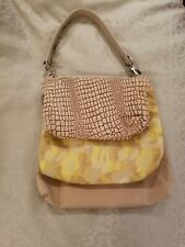 Karine Dupont Nylon + Canvas-3 in 1 Handbag-Multi-Neutral-NWOT