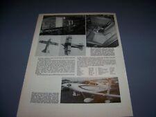 VINTAGE..LUBIN R-XIV B AIRPLANE..4-VIEWS/DETAILS/STRUCTURE..RARE! (597P)