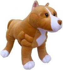 "Adore 13"" Standing Boss The Pit Bull Dog Plush Stuffed Animal Toy"
