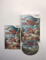 Disney Planes Fire & Rescue Nintendo Wii Video Game w/ Case & Manual (2014)