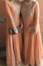 Walima pakistani bollywood wedding maxi dress salwar kameez bridal anarkali