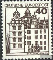 BRD (BR.Deutschland) 1037A I R mit Zählnummer postfrisch 1980 Burgen und Schlöss